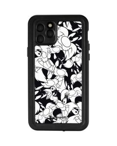 Sylvester Super Sized Pattern iPhone 11 Pro Waterproof Case