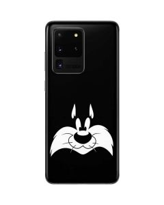 Sylvester the Cat Black and White Galaxy S20 Ultra 5G Skin