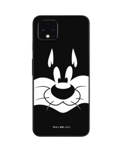 Sylvester the Cat Black and White Google Pixel 4 Skin