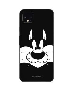 Sylvester the Cat Black and White Google Pixel 4 XL Skin