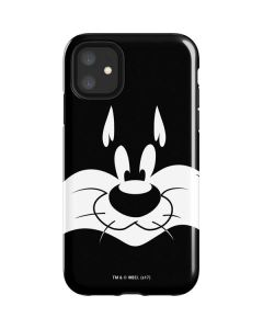 Sylvester the Cat Black and White iPhone 11 Impact Case