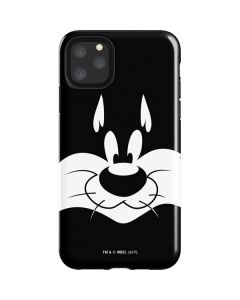 Sylvester the Cat Black and White iPhone 11 Pro Max Impact Case