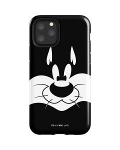 Sylvester the Cat Black and White iPhone 11 Pro Impact Case