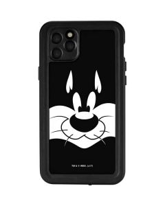 Sylvester the Cat Black and White iPhone 11 Pro Max Waterproof Case