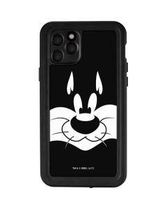 Sylvester the Cat Black and White iPhone 11 Pro Waterproof Case