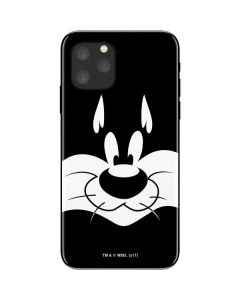 Sylvester the Cat Black and White iPhone 11 Pro Skin