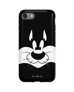 Sylvester the Cat Black and White iPhone SE Pro Case
