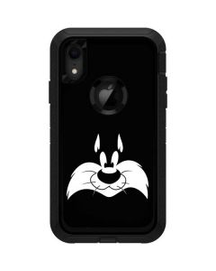 Sylvester the Cat Black and White Otterbox Defender iPhone Skin