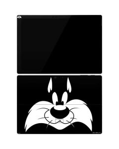 Sylvester the Cat Black and White Surface Pro 7 Skin