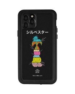 Sylvester the Cat Sliced Juxtapose iPhone 11 Pro Waterproof Case