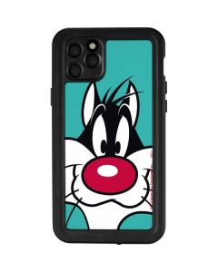 Sylvester Zoomed In iPhone 11 Pro Max Waterproof Case