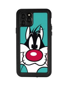 Sylvester Zoomed In iPhone 11 Pro Waterproof Case