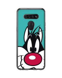 Sylvester Zoomed In LG K51/Q51 Clear Case