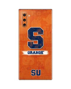 Syracuse Distressed Galaxy Note 10 Skin