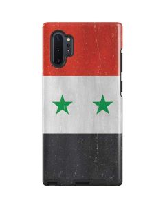 Syria Flag Distressed Galaxy Note 10 Plus Pro Case