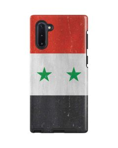 Syria Flag Distressed Galaxy Note 10 Pro Case