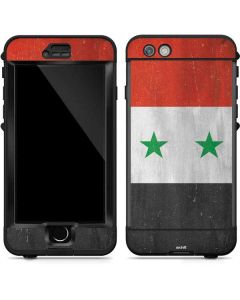 Syria Flag Distressed LifeProof Nuud iPhone Skin