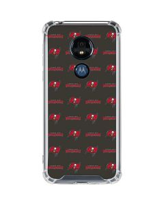 Tampa Bay Buccaneers Blitz Series Moto G7 Power Clear Case
