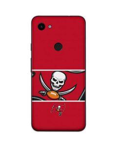 Tampa Bay Buccaneers Zone Block Google Pixel 3a Skin