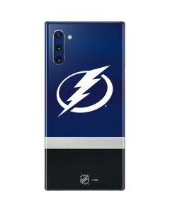 Tampa Bay Lightning Alternate Jersey Galaxy Note 10 Skin