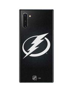 Tampa Bay Lightning Black Background Galaxy Note 10 Skin