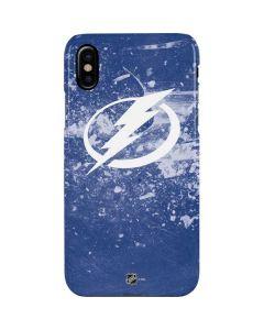Tampa Bay Lightning Frozen iPhone XS Max Lite Case