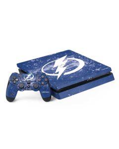 Tampa Bay Lightning Frozen PS4 Slim Bundle Skin