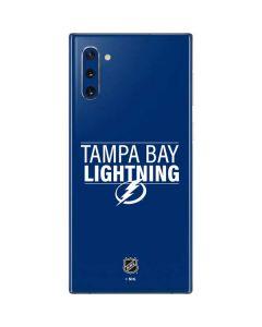 Tampa Bay Lightning Lineup Galaxy Note 10 Skin
