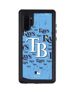 Tampa Bay Rays - Cap Logo Blast Galaxy Note 10 Plus Waterproof Case