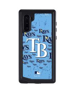 Tampa Bay Rays - Cap Logo Blast Galaxy Note 10 Waterproof Case