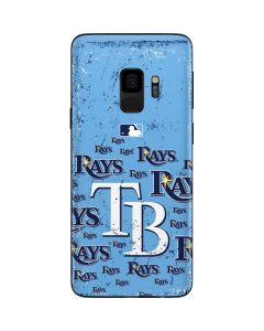 Tampa Bay Rays - Cap Logo Blast Galaxy S9 Skin