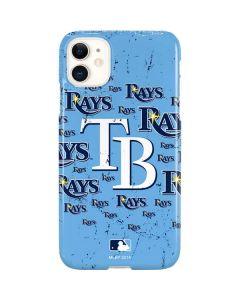 Tampa Bay Rays - Cap Logo Blast iPhone 11 Lite Case