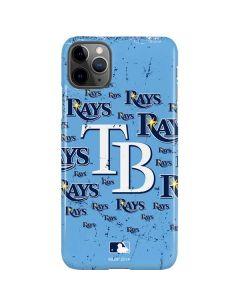 Tampa Bay Rays - Cap Logo Blast iPhone 11 Pro Max Lite Case