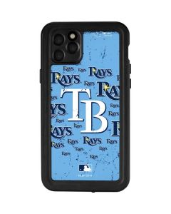 Tampa Bay Rays - Cap Logo Blast iPhone 11 Pro Max Waterproof Case