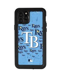 Tampa Bay Rays - Cap Logo Blast iPhone 11 Pro Waterproof Case