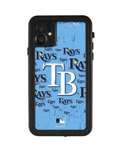 Tampa Bay Rays - Cap Logo Blast iPhone 11 Waterproof Case