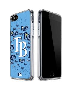 Tampa Bay Rays - Cap Logo Blast iPhone SE Clear Case