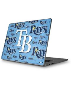Tampa Bay Rays - Cap Logo Blast Apple MacBook Pro 17-inch Skin