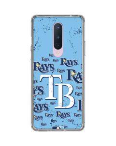 Tampa Bay Rays - Cap Logo Blast OnePlus 8 Clear Case