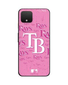 Tampa Bay Rays - Pink Cap Logo Blast Google Pixel 4 Skin