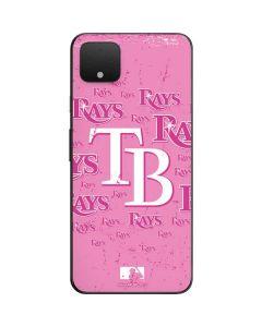Tampa Bay Rays - Pink Cap Logo Blast Google Pixel 4 XL Skin