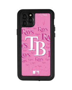 Tampa Bay Rays - Pink Cap Logo Blast iPhone 11 Pro Max Waterproof Case