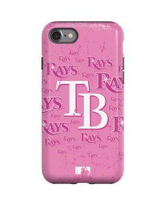 Tampa Bay Rays - Pink Cap Logo Blast iPhone SE Pro Case