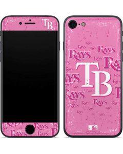 Tampa Bay Rays - Pink Cap Logo Blast iPhone SE Skin