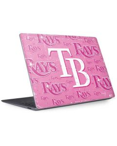 Tampa Bay Rays - Pink Cap Logo Blast Surface Laptop 3 13.5in Skin