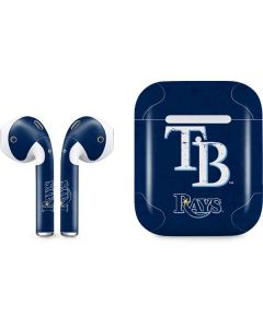 Tampa Bay Rays - Solid Distressed Apple AirPods 2 Skin