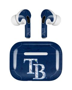 Tampa Bay Rays - Solid Distressed Apple AirPods Pro Skin