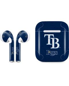 Tampa Bay Rays - Solid Distressed Apple AirPods Skin