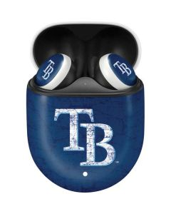 Tampa Bay Rays - Solid Distressed Google Pixel Buds Skin