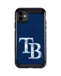 Tampa Bay Rays - Solid Distressed iPhone 11 Cargo Case